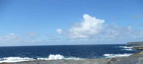 Poseidon ist der Gott des Meeres