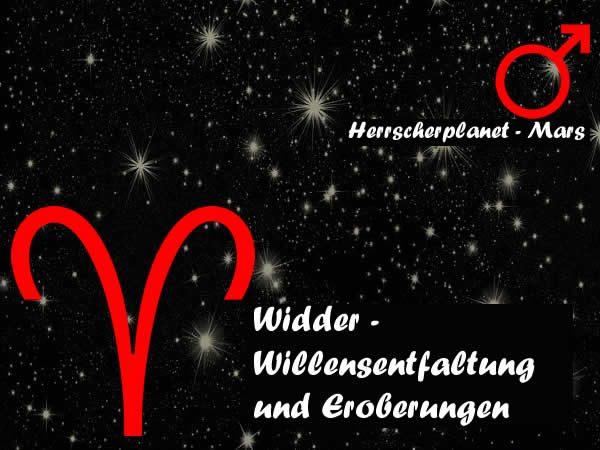 Widder - Willensentfaltung und Eroberungen