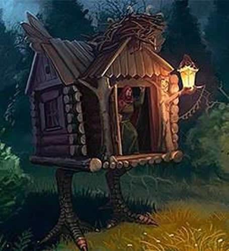 Das unheimliche Haus der Baba Jaga